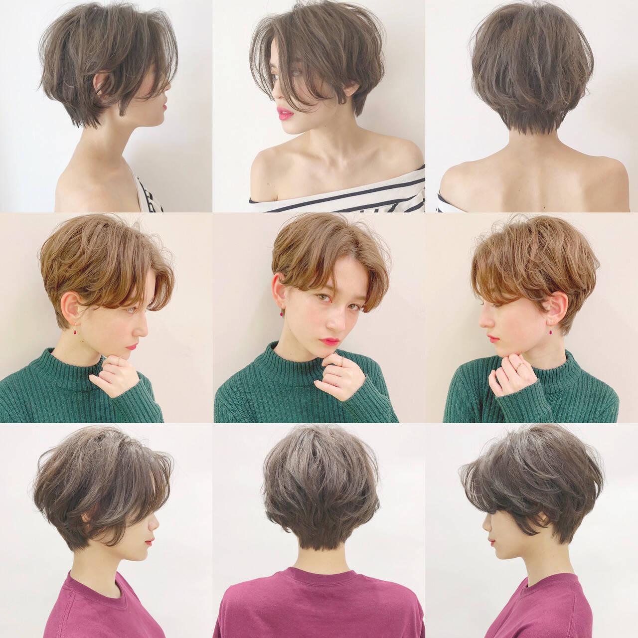 パーマ アウトドア デート スポーツヘアスタイルや髪型の写真・画像