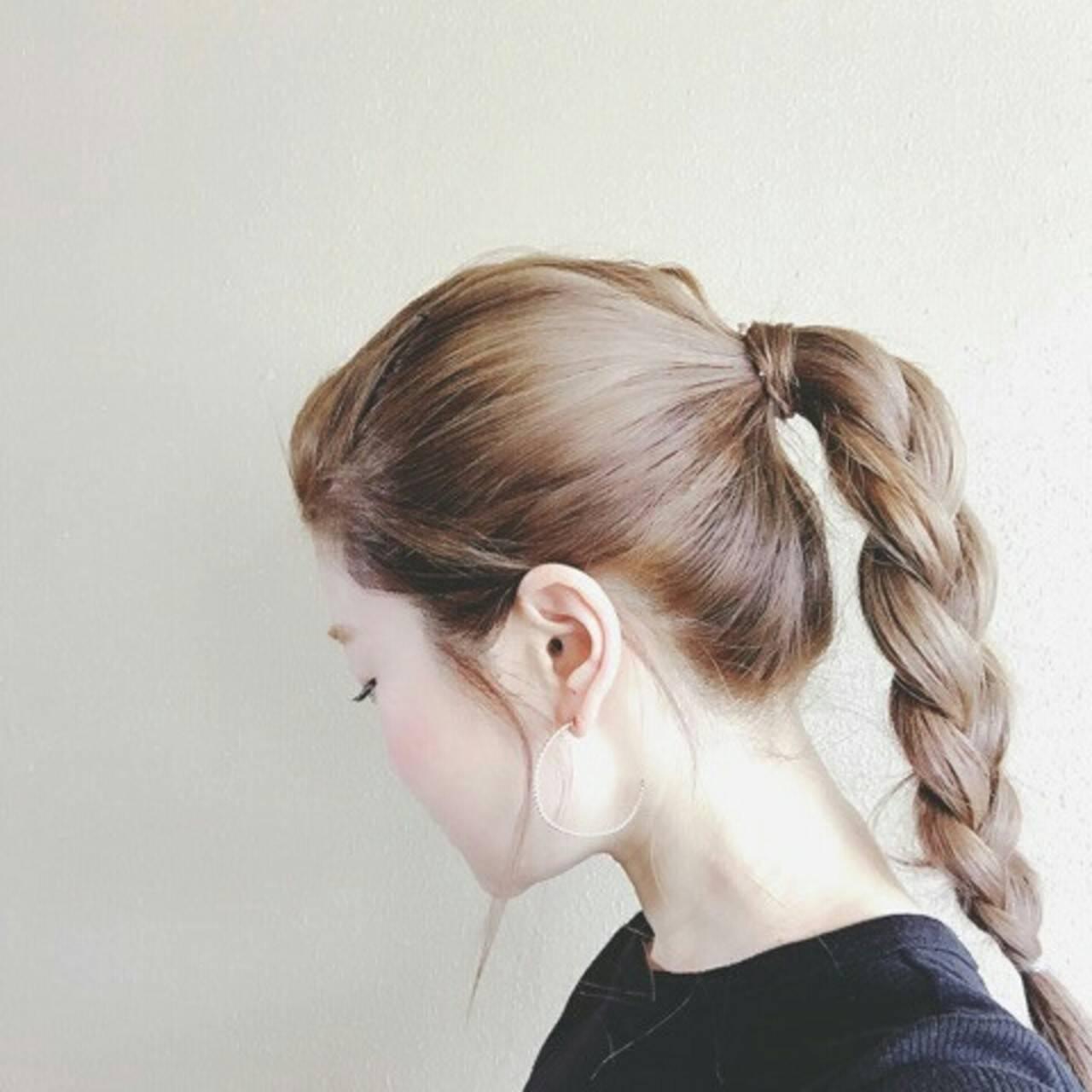 グレージュ 外国人風 ロング 秋ヘアスタイルや髪型の写真・画像