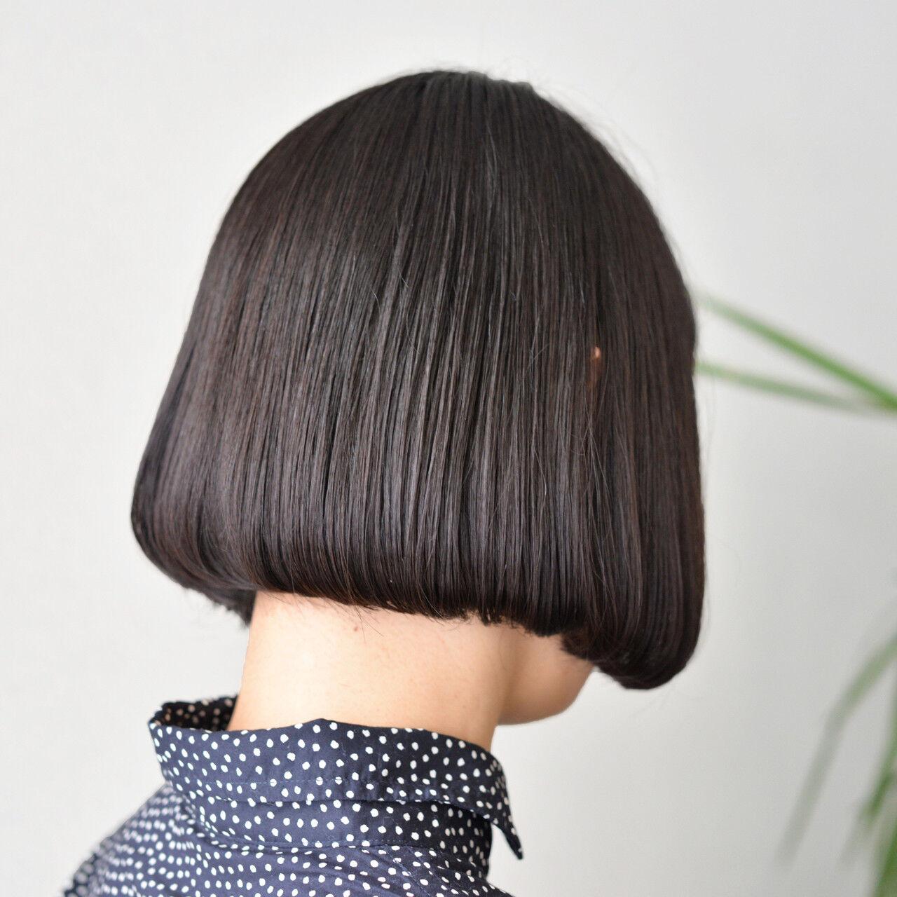 アッシュ 色気 ボブ モードヘアスタイルや髪型の写真・画像