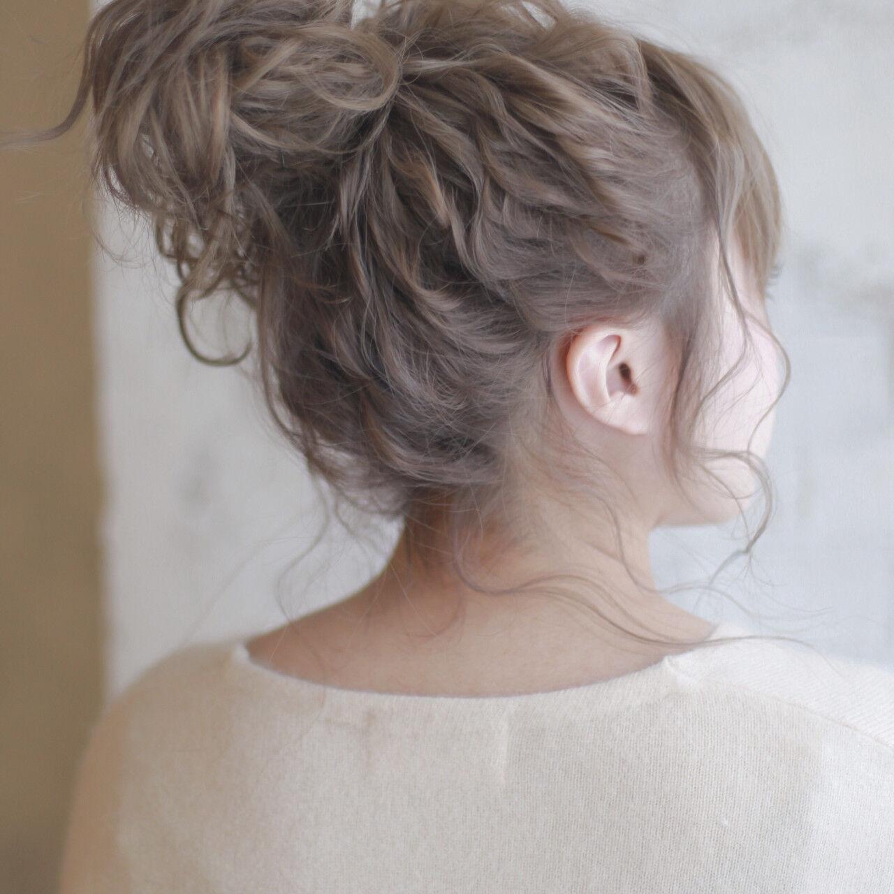 セミロング ショート ヘアアレンジ 結婚式ヘアスタイルや髪型の写真・画像