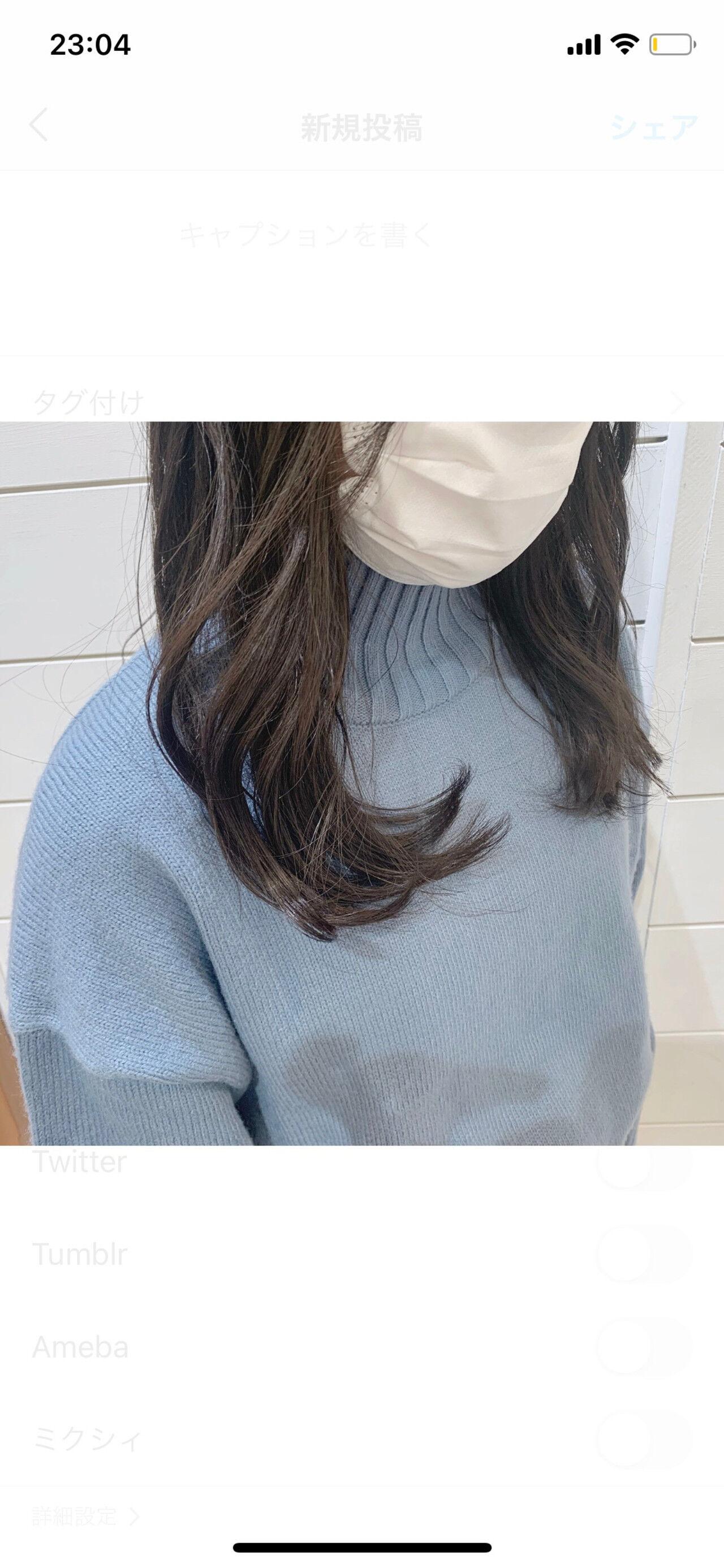 ロング ダークアッシュ 暗髪 透明感ヘアスタイルや髪型の写真・画像
