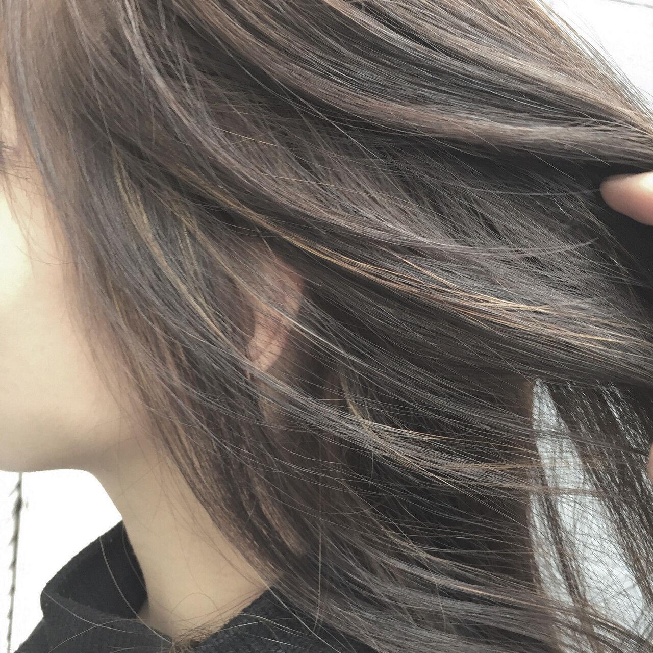 ボブ ミディアム アッシュ 大人かわいいヘアスタイルや髪型の写真・画像
