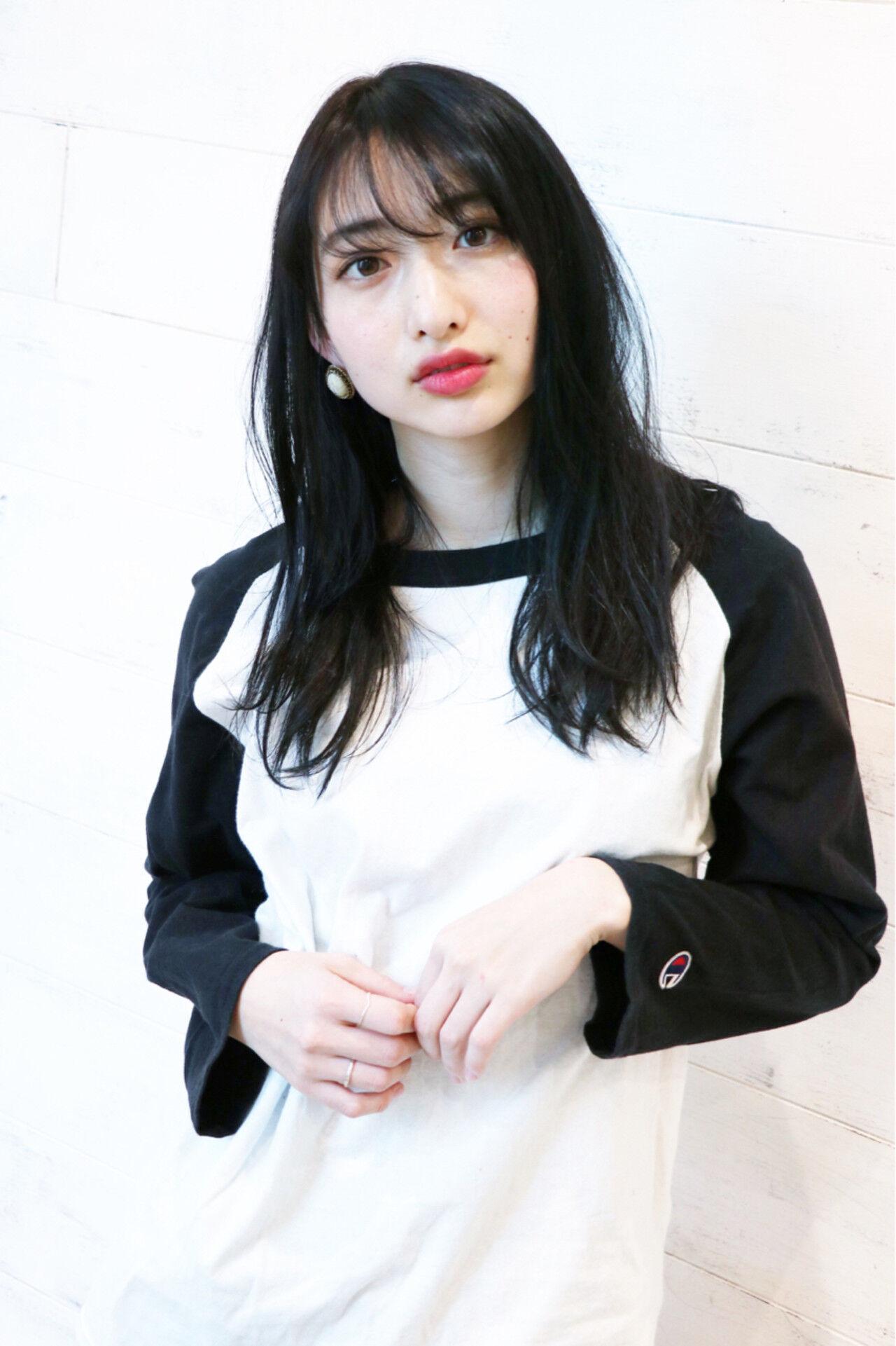 バレンタイン 謝恩会 ナチュラル 抜け感ヘアスタイルや髪型の写真・画像