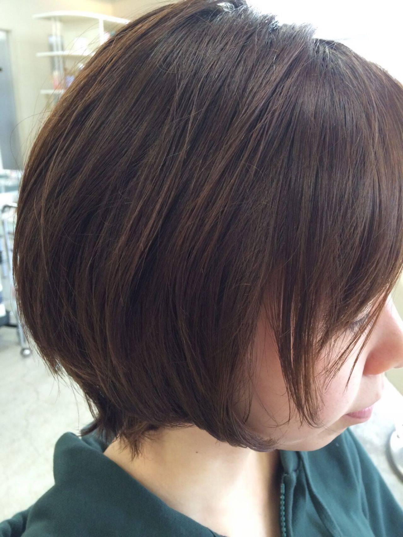 パンク 春 ボブ ナチュラルヘアスタイルや髪型の写真・画像