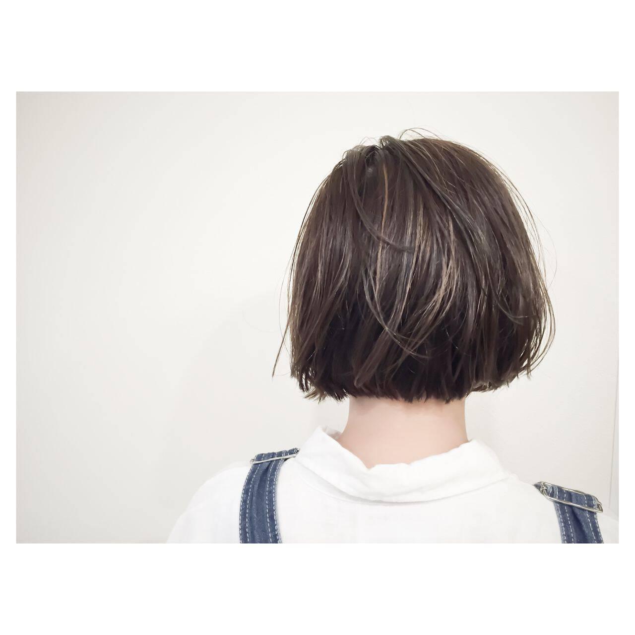 ボブ ストリート 大人かわいい 外国人風ヘアスタイルや髪型の写真・画像