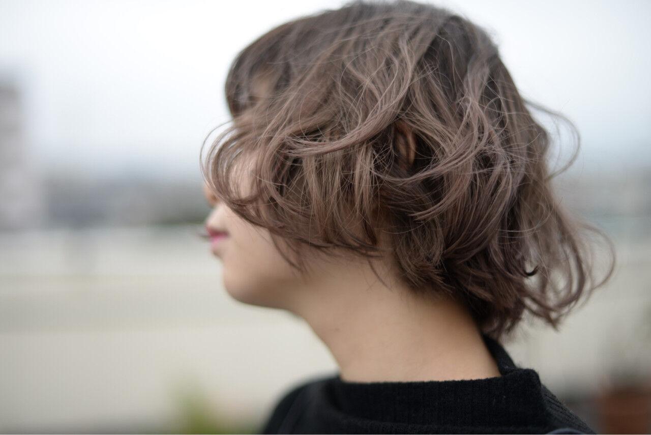 グラデーションカラー 外国人風 前髪あり ストリートヘアスタイルや髪型の写真・画像