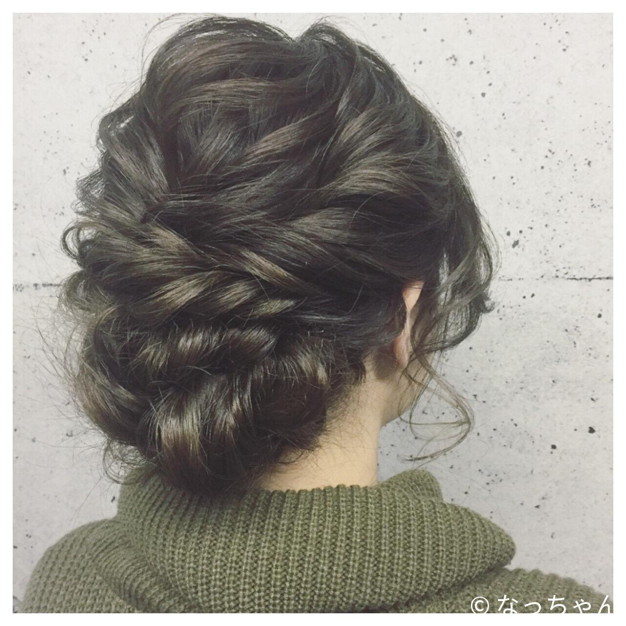 ヘアアレンジ ロング 結婚式 デートヘアスタイルや髪型の写真・画像