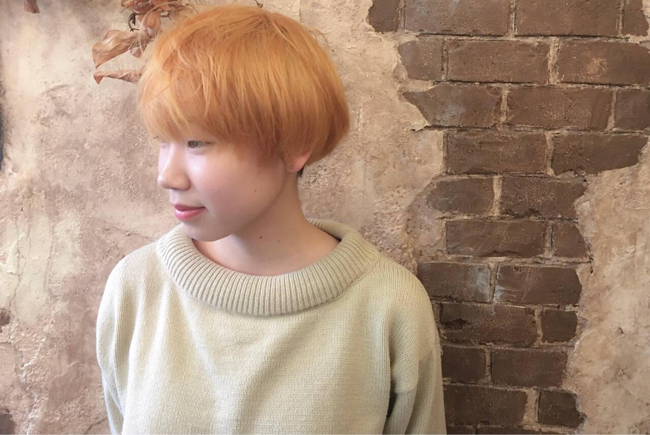 色気 ナチュラル 抜け感 マッシュヘアスタイルや髪型の写真・画像