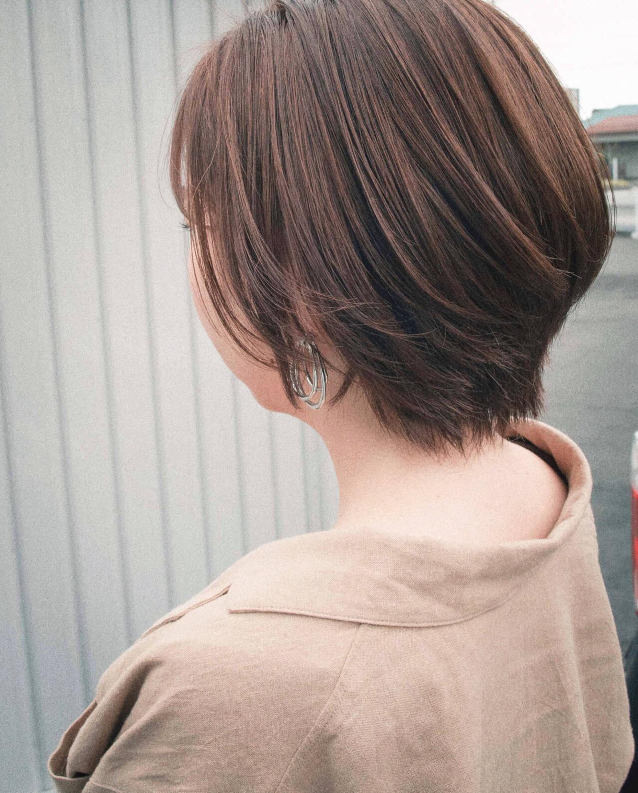 ショートヘア ベリーショート ショート 大人ショートヘアスタイルや髪型の写真・画像