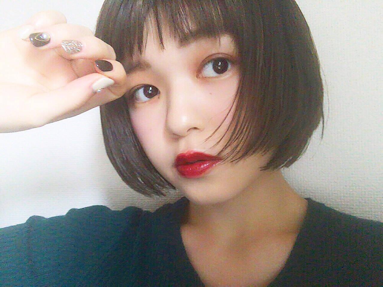 女子力 モード 大人女子 ショートヘアスタイルや髪型の写真・画像