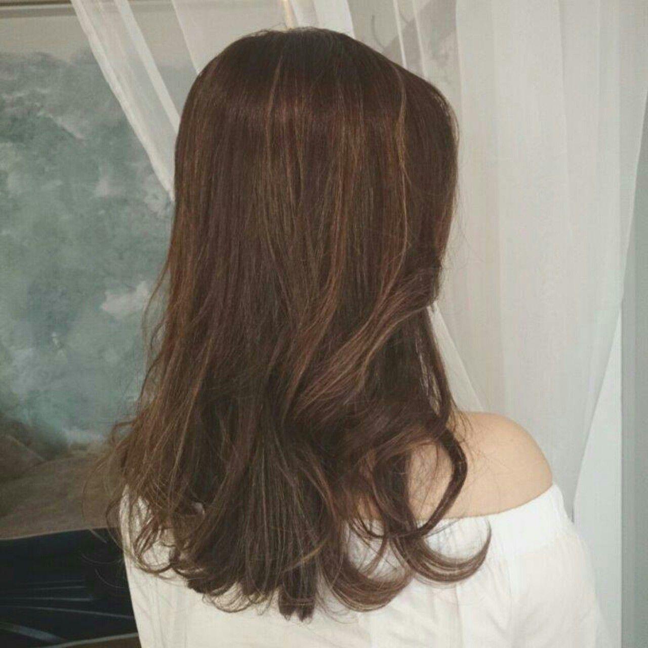 ウェーブ ヘアアレンジ ロング エレガントヘアスタイルや髪型の写真・画像