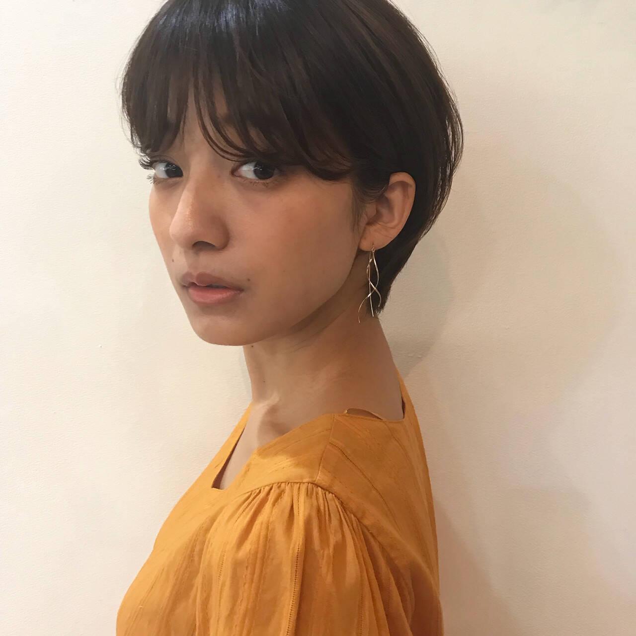 スポーツ フェミニン エフォートレス ナチュラルヘアスタイルや髪型の写真・画像