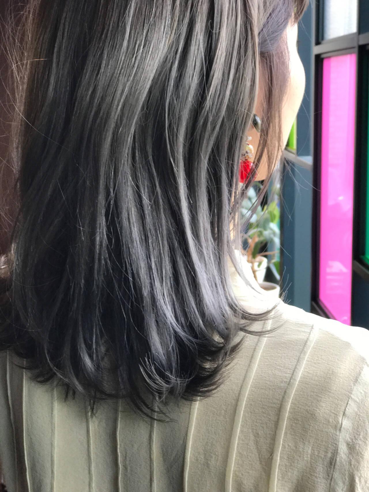 ストリート ボブ 色気 アッシュヘアスタイルや髪型の写真・画像