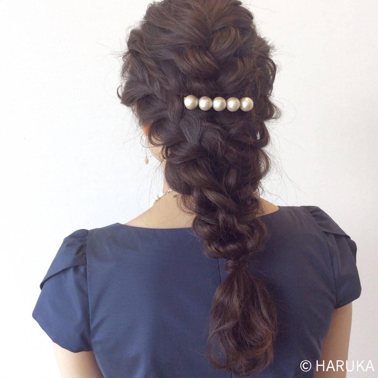 ゆるふわ ヘアアレンジ 結婚式 大人かわいいヘアスタイルや髪型の写真・画像