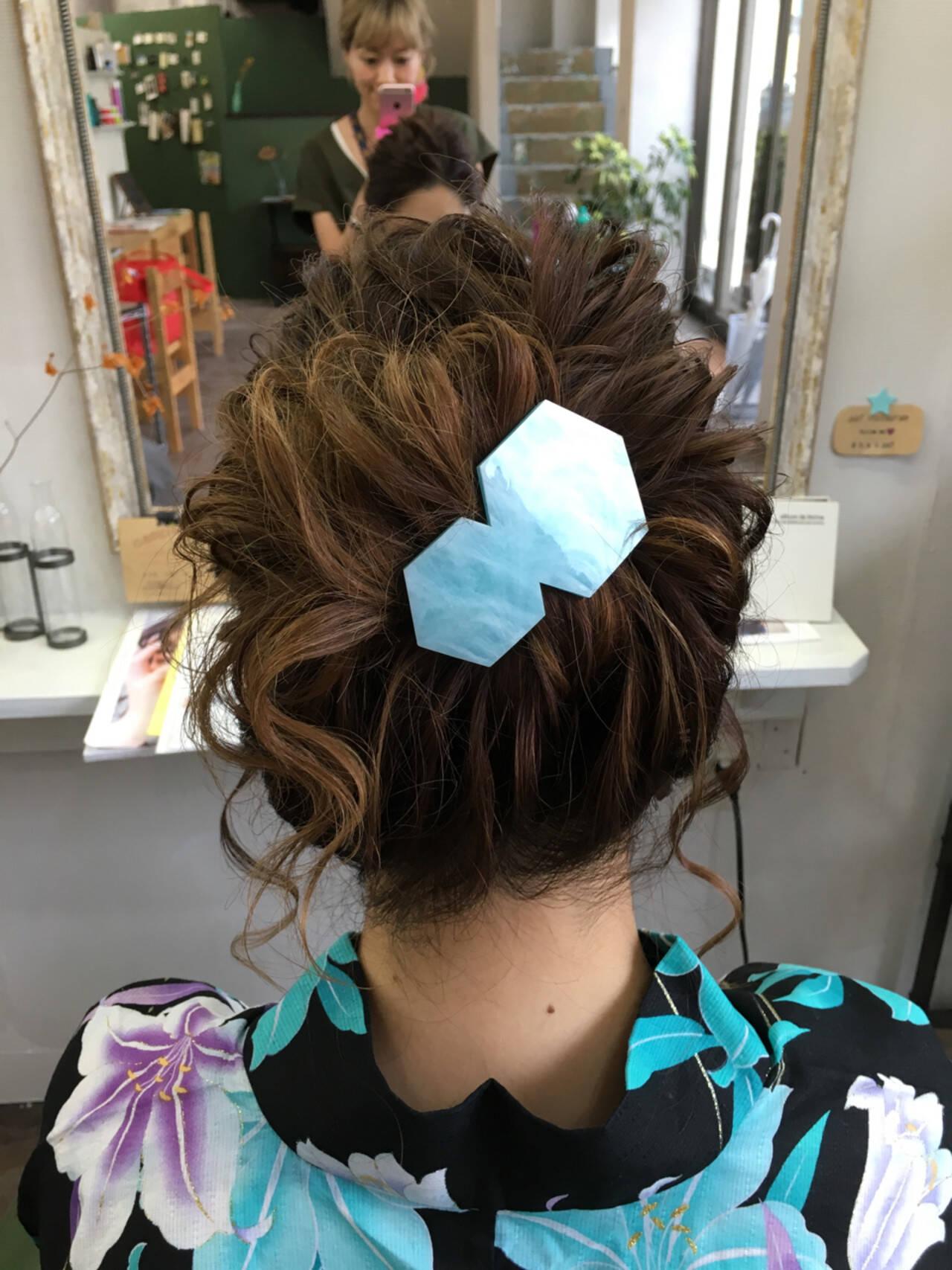 ロング まとめ髪 アップスタイル ヘアアレンジヘアスタイルや髪型の写真・画像