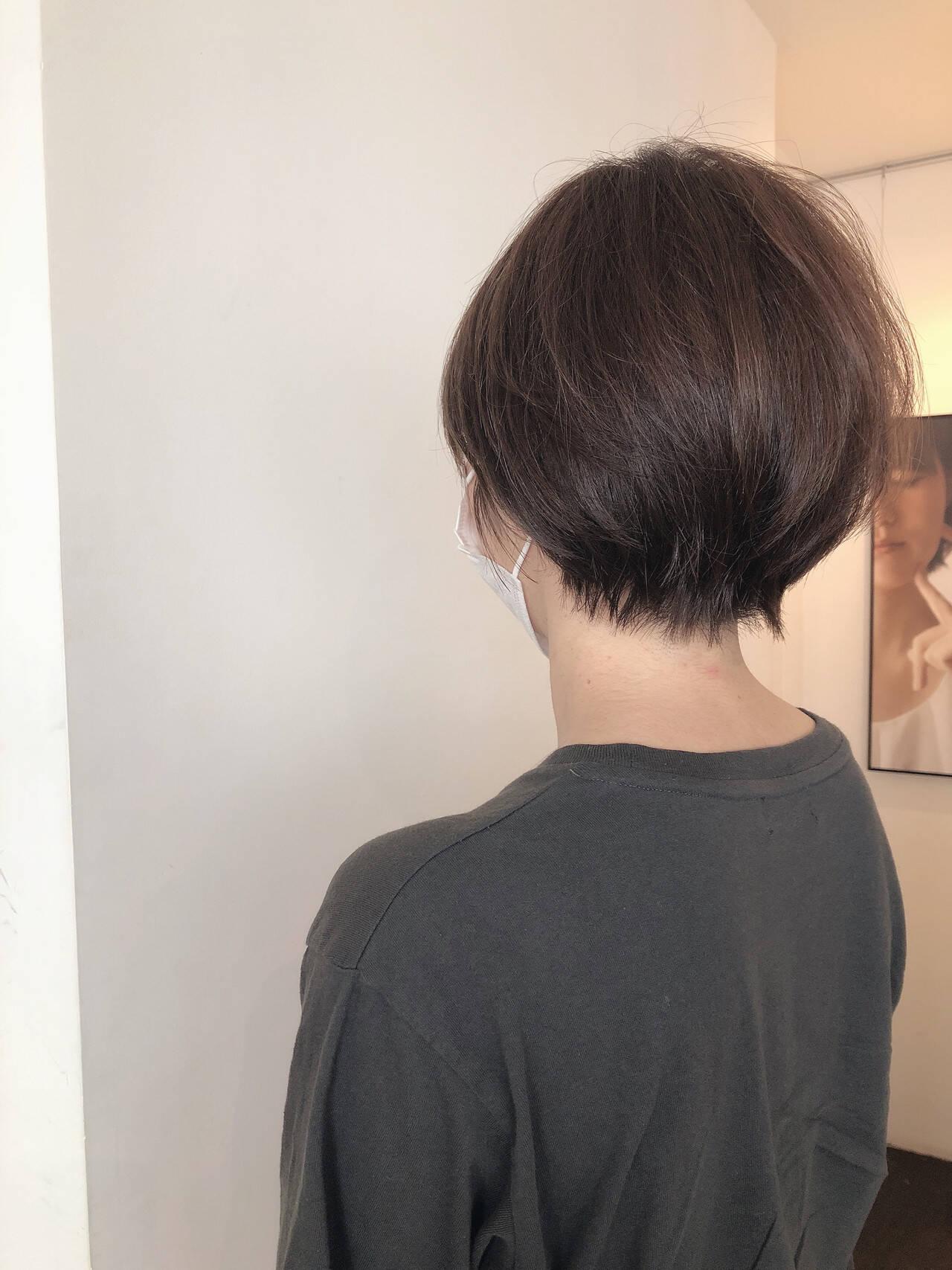 ショートヘア 大人ショート ショート 小顔ショートヘアスタイルや髪型の写真・画像