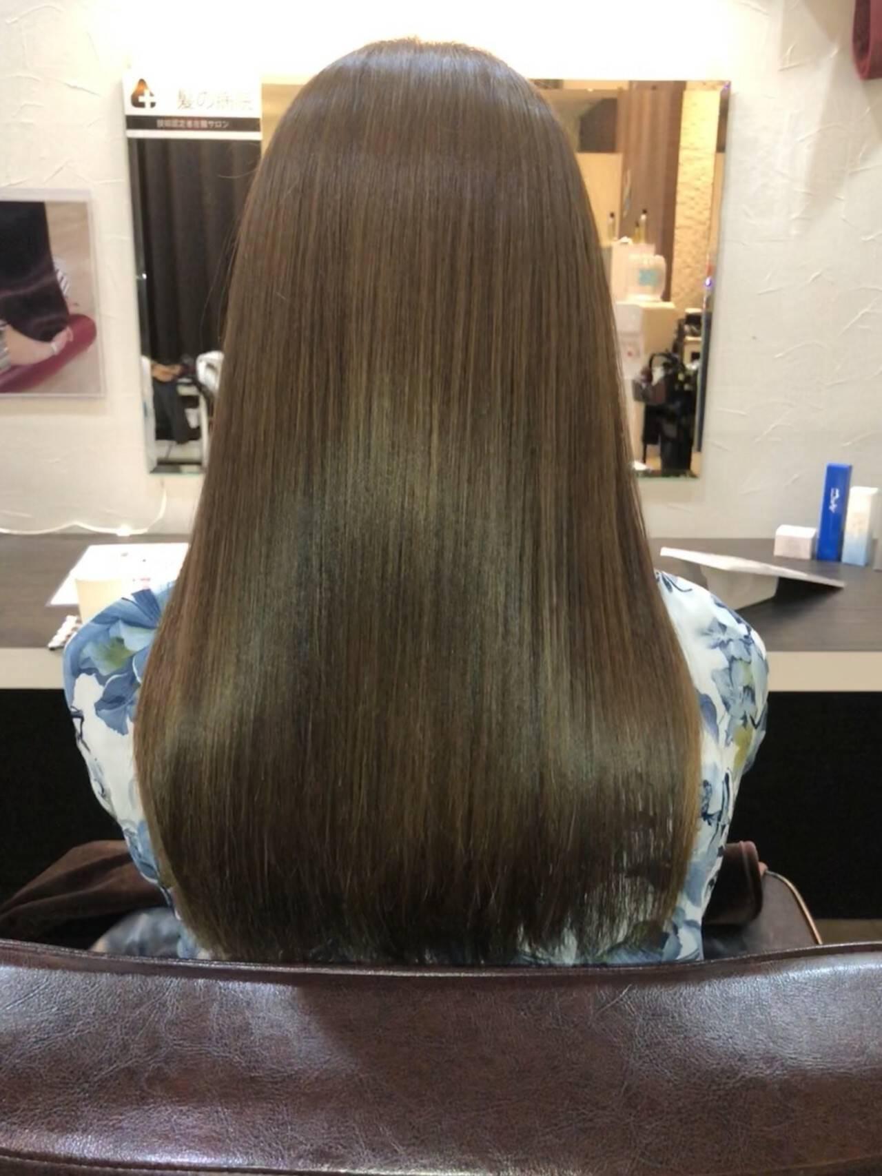 髪質改善 名古屋市守山区 トリートメント 頭皮ケアヘアスタイルや髪型の写真・画像