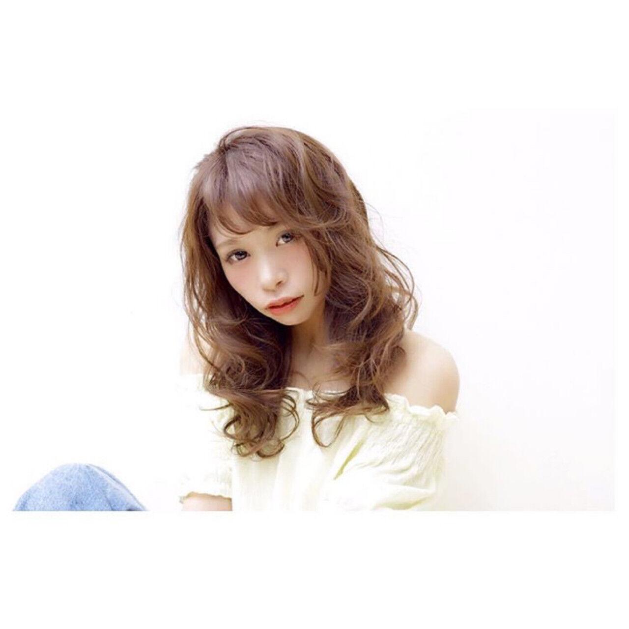 透明感 大人女子 イルミナカラー こなれ感ヘアスタイルや髪型の写真・画像