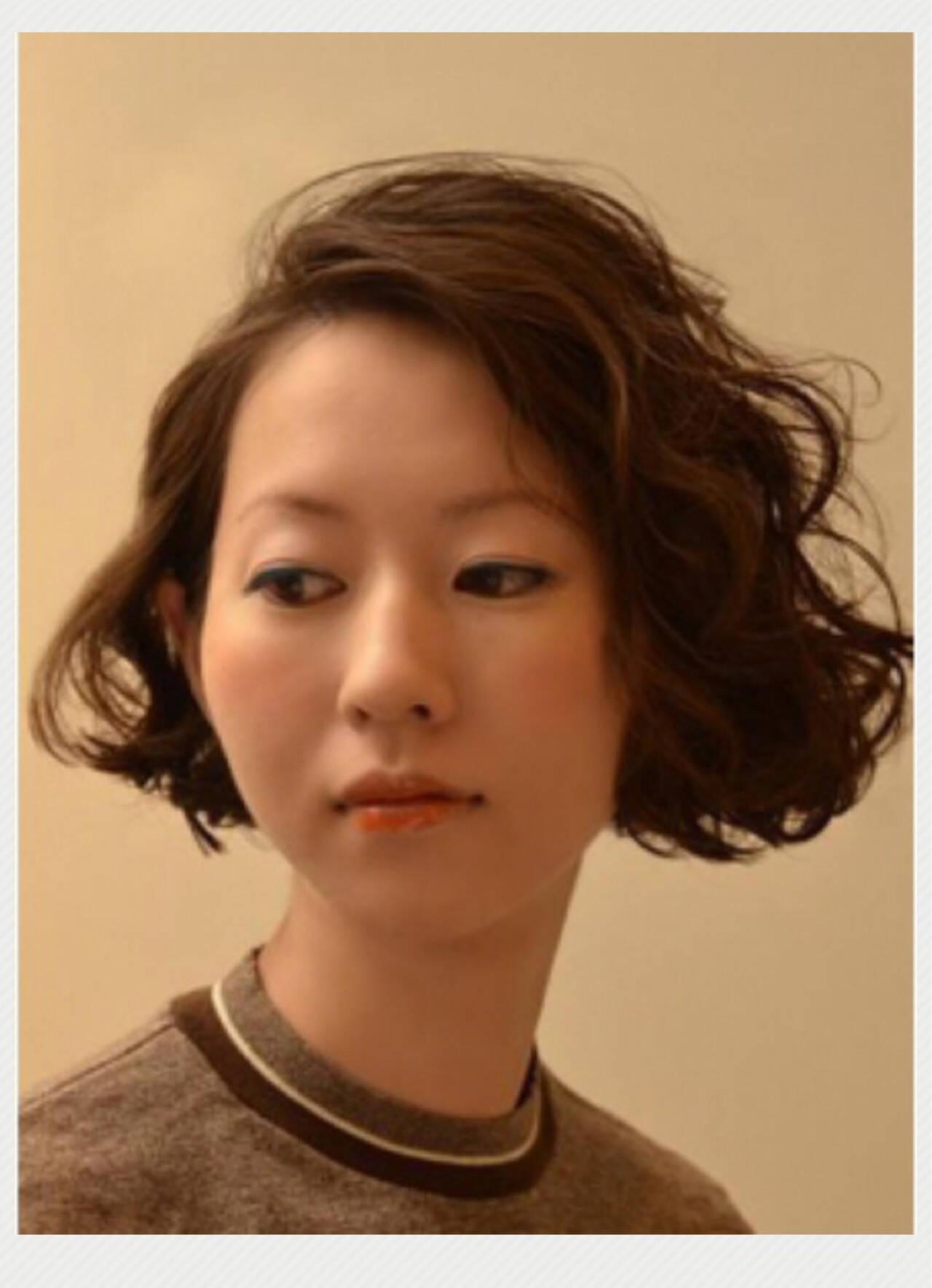 ストリート ボブ 外国人風 ゆるふわヘアスタイルや髪型の写真・画像