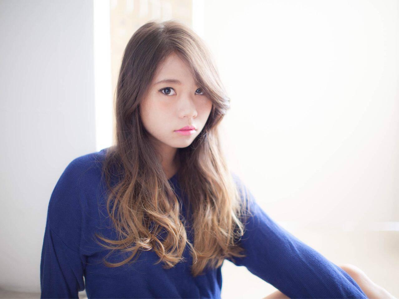 かっこいい 大人女子 ロング 外国人風ヘアスタイルや髪型の写真・画像