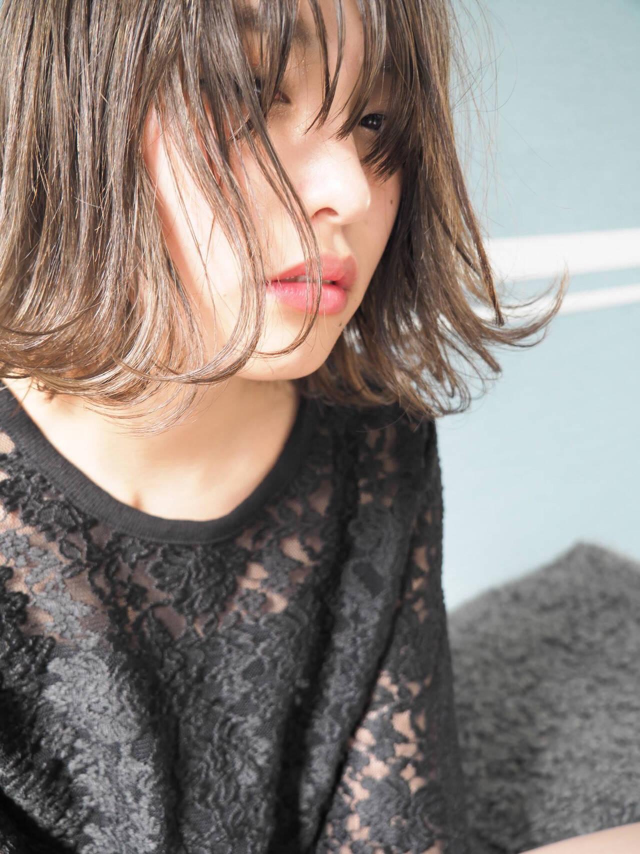 外国人風 フェミニン ブルージュ ロングヘアスタイルや髪型の写真・画像