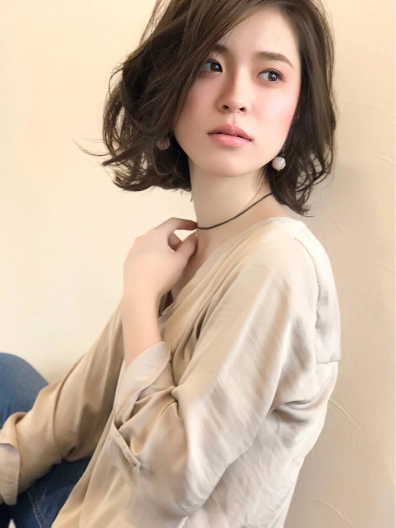 ナチュラル 透明感 大人女子 外国人風ヘアスタイルや髪型の写真・画像