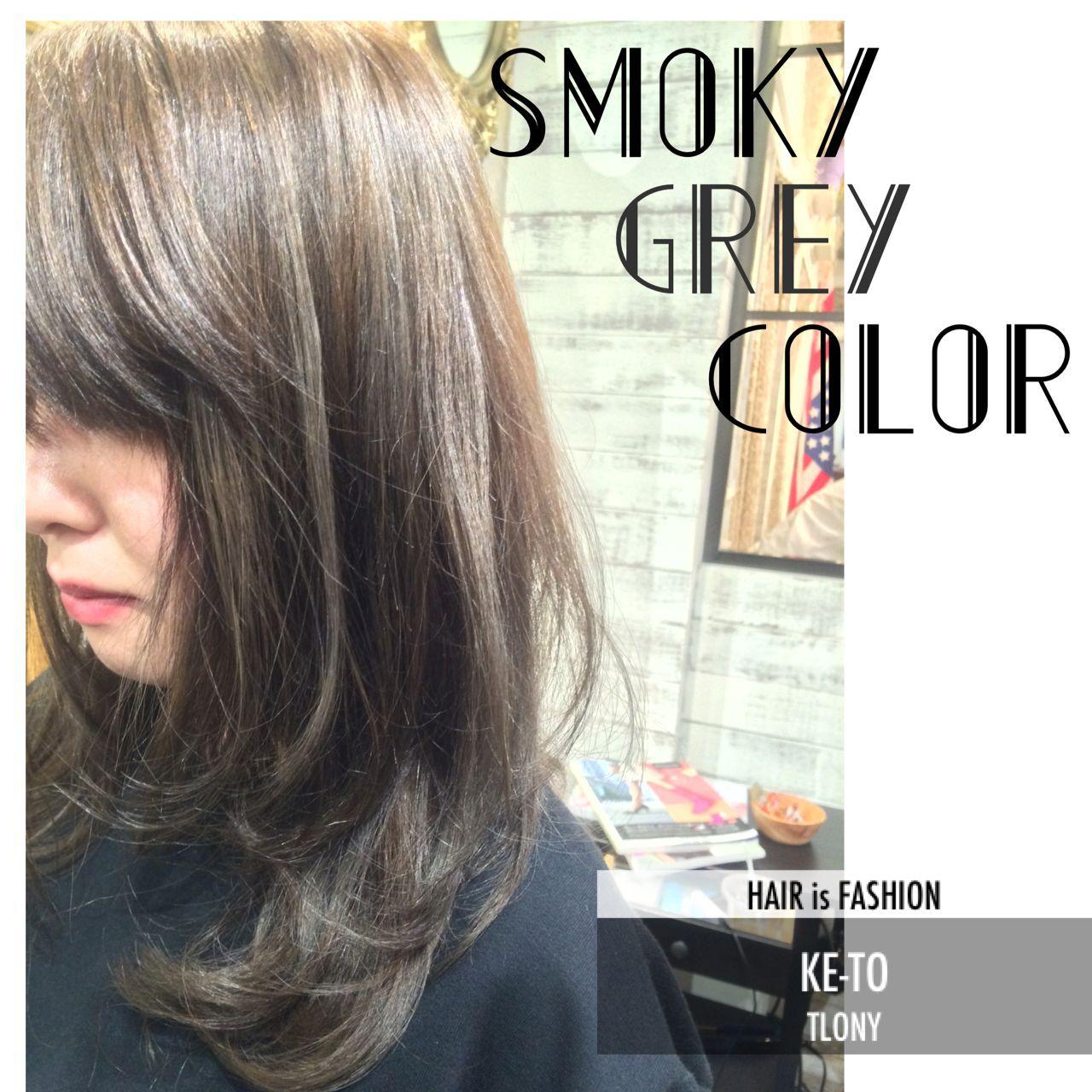 ロング ストリートヘアスタイルや髪型の写真・画像