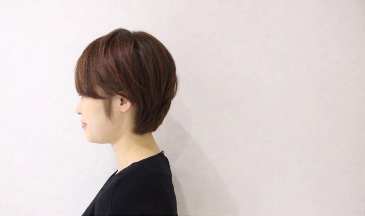 フェミニン ショート ボブ ゆるふわヘアスタイルや髪型の写真・画像