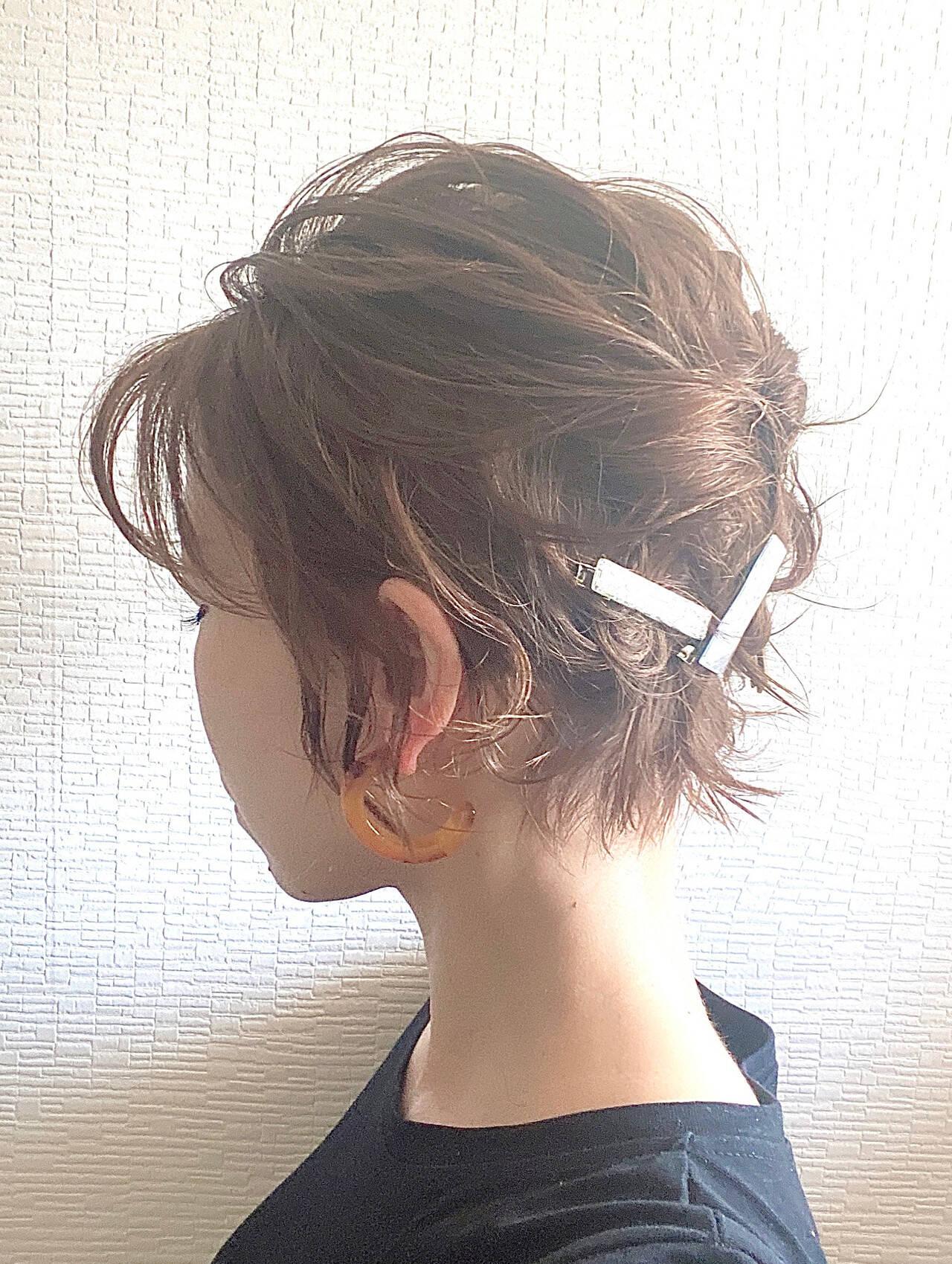 ボブ ボブアレンジ ミニボブ ヘアアレンジヘアスタイルや髪型の写真・画像