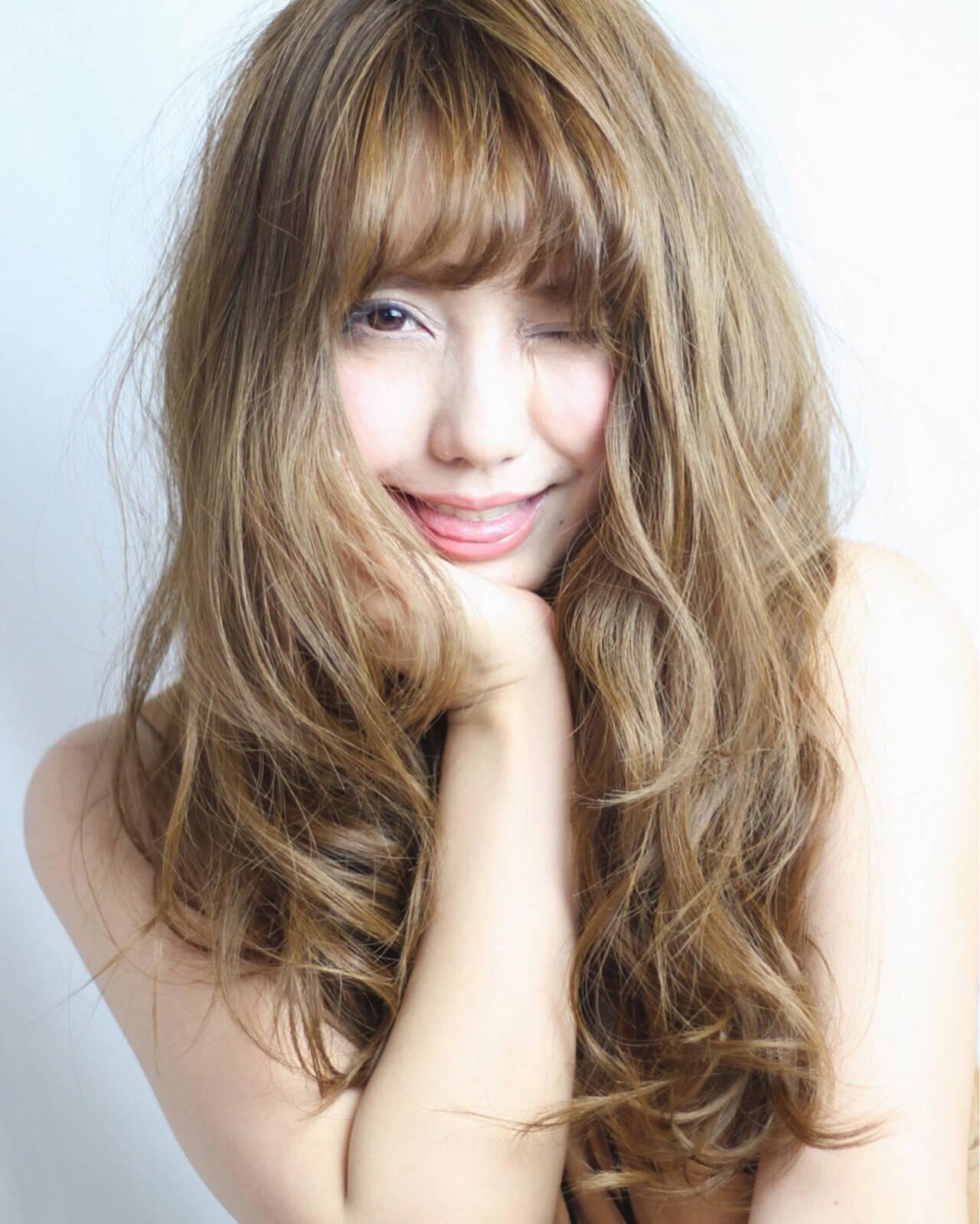 ラフ 外国人風 大人女子 渋谷系ヘアスタイルや髪型の写真・画像