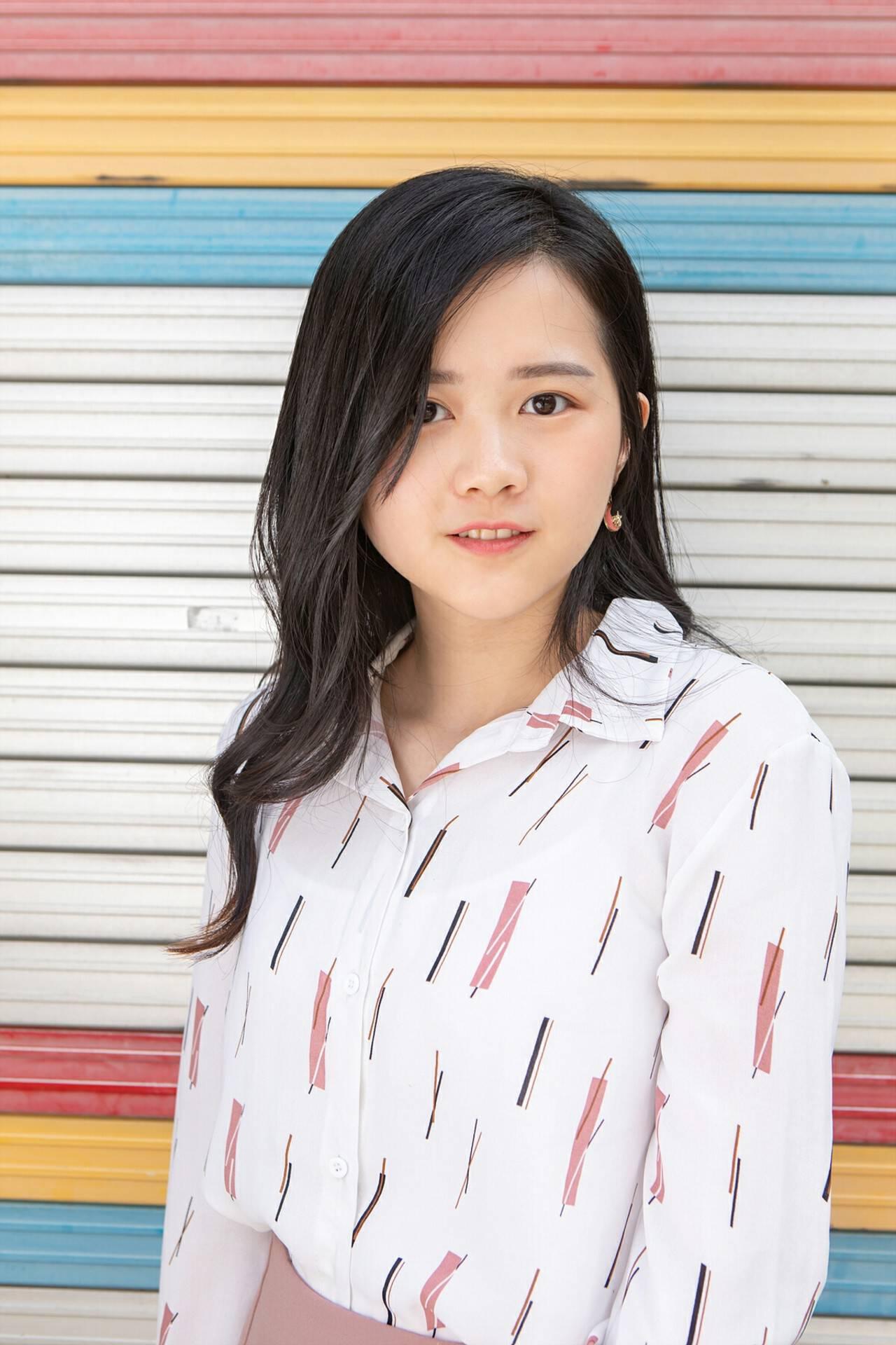 韓国風ヘアー パーマ 韓国ヘア エレガントヘアスタイルや髪型の写真・画像
