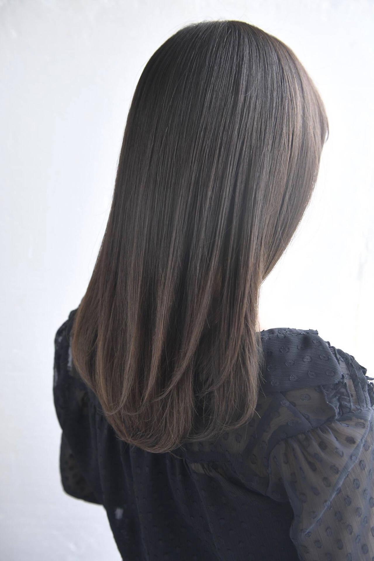 可愛い ナチュラル トリートメント 美髪ヘアスタイルや髪型の写真・画像