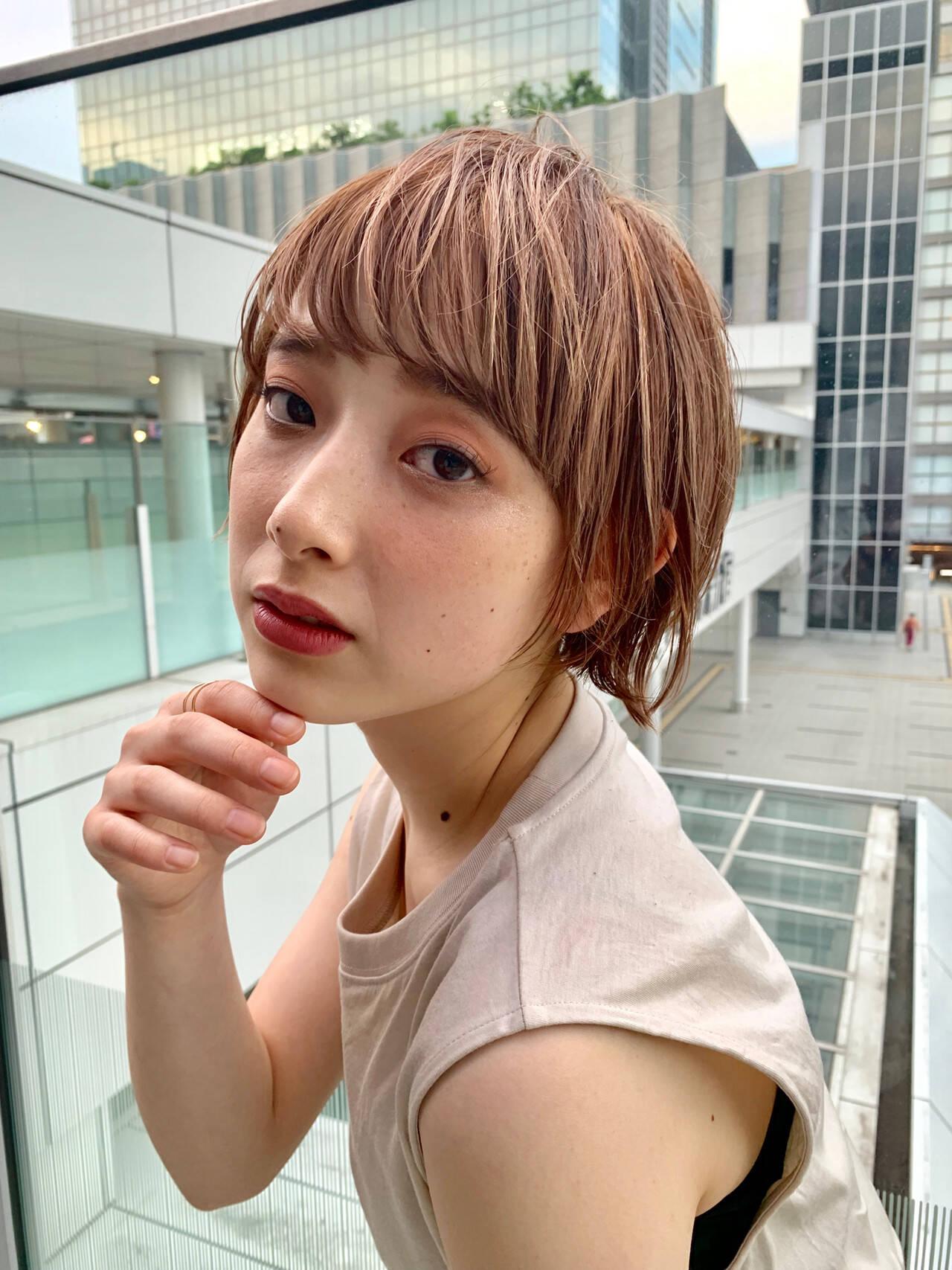 ショート ウルフカット ハンサムショート 阿藤俊也ヘアスタイルや髪型の写真・画像
