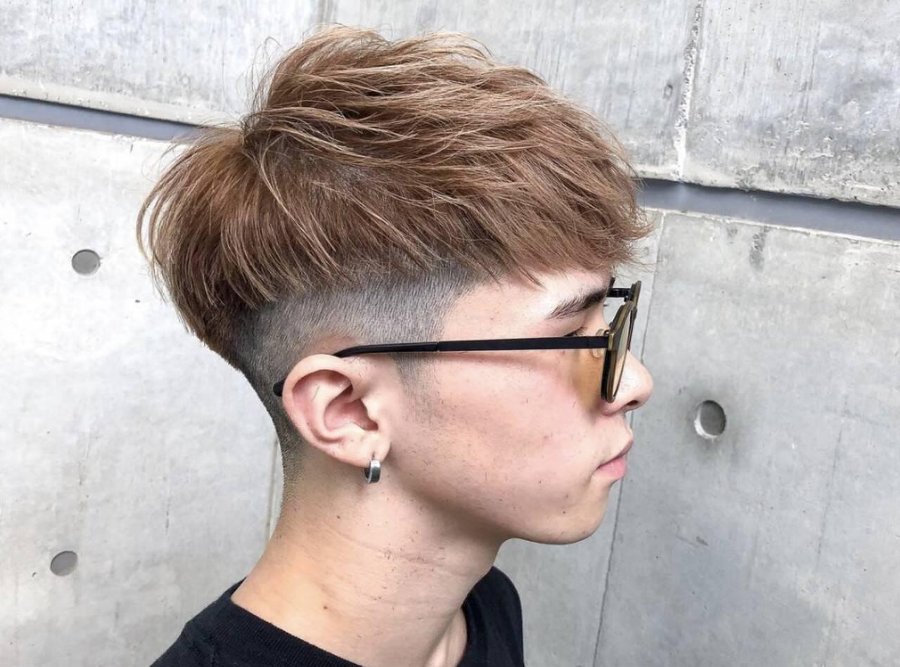 モード メンズスタイル ショート メンズマッシュヘアスタイルや髪型の写真・画像