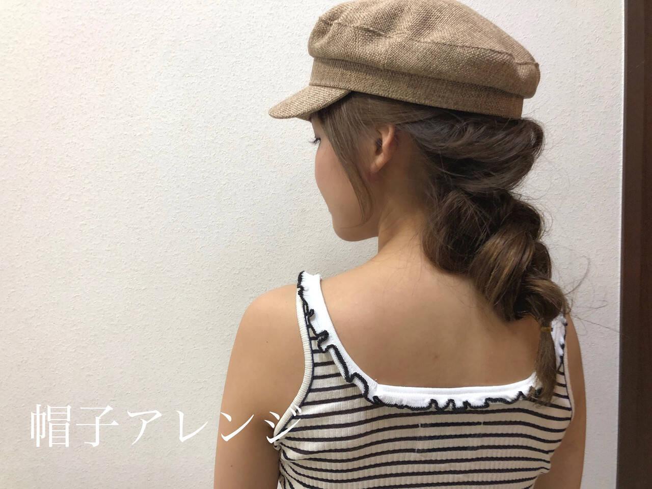 ヘアアレンジ デート 簡単ヘアアレンジ 編み込みヘアヘアスタイルや髪型の写真・画像