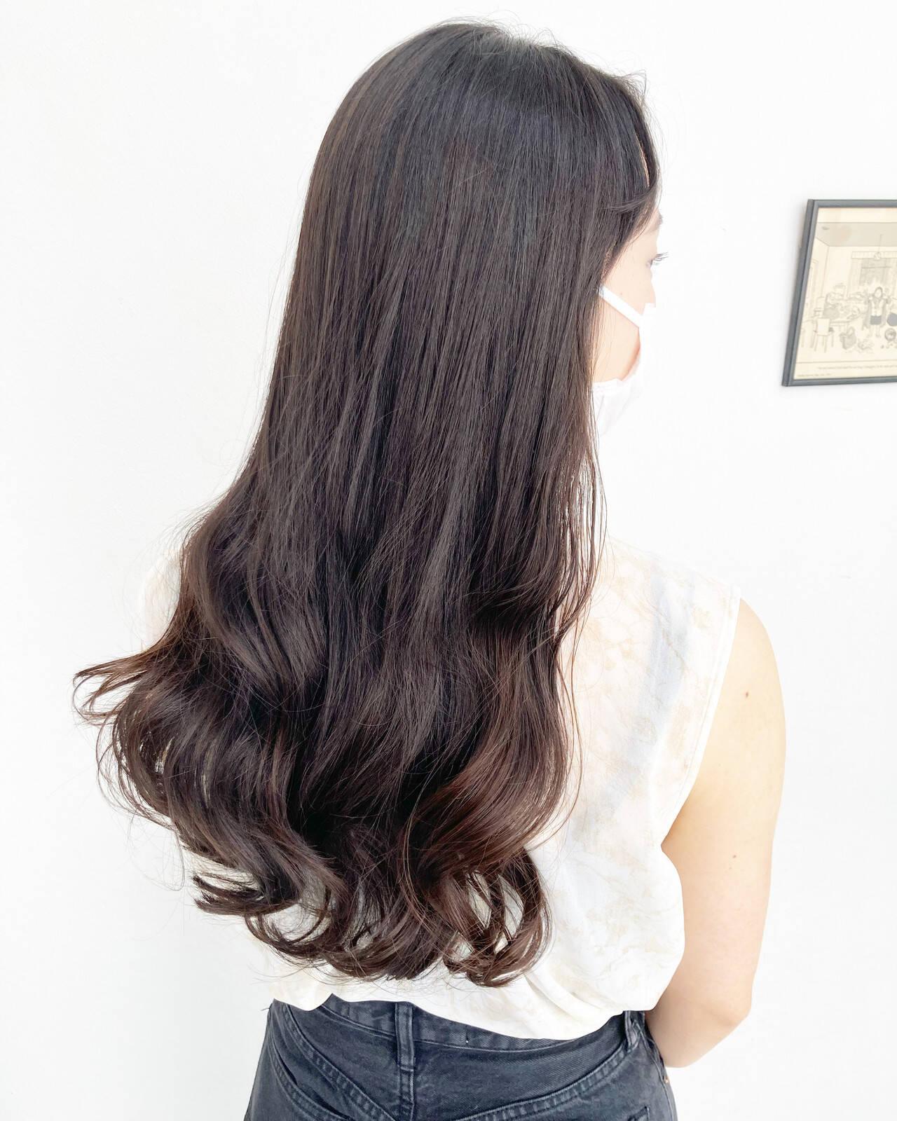 前髪 髪質改善トリートメント 髪質改善 前髪ありヘアスタイルや髪型の写真・画像