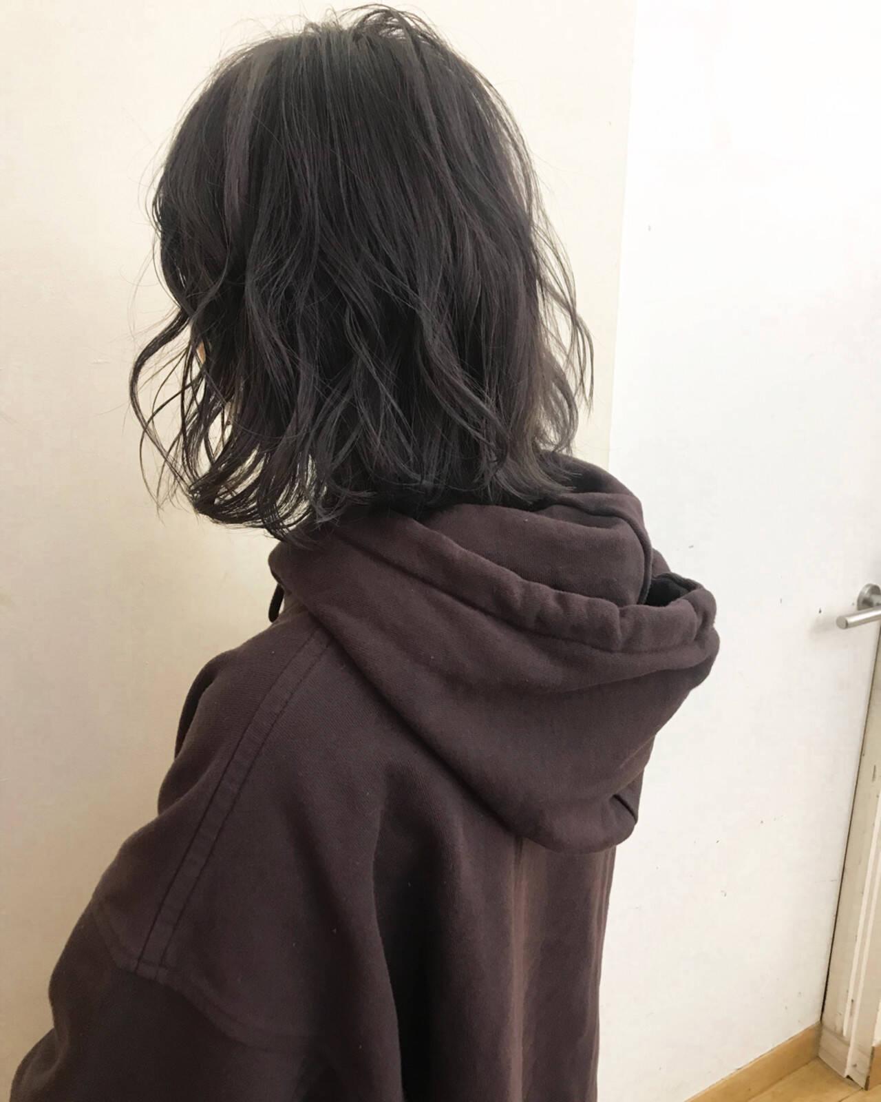 エフォートレス 透明感 ブリーチ 女子力ヘアスタイルや髪型の写真・画像
