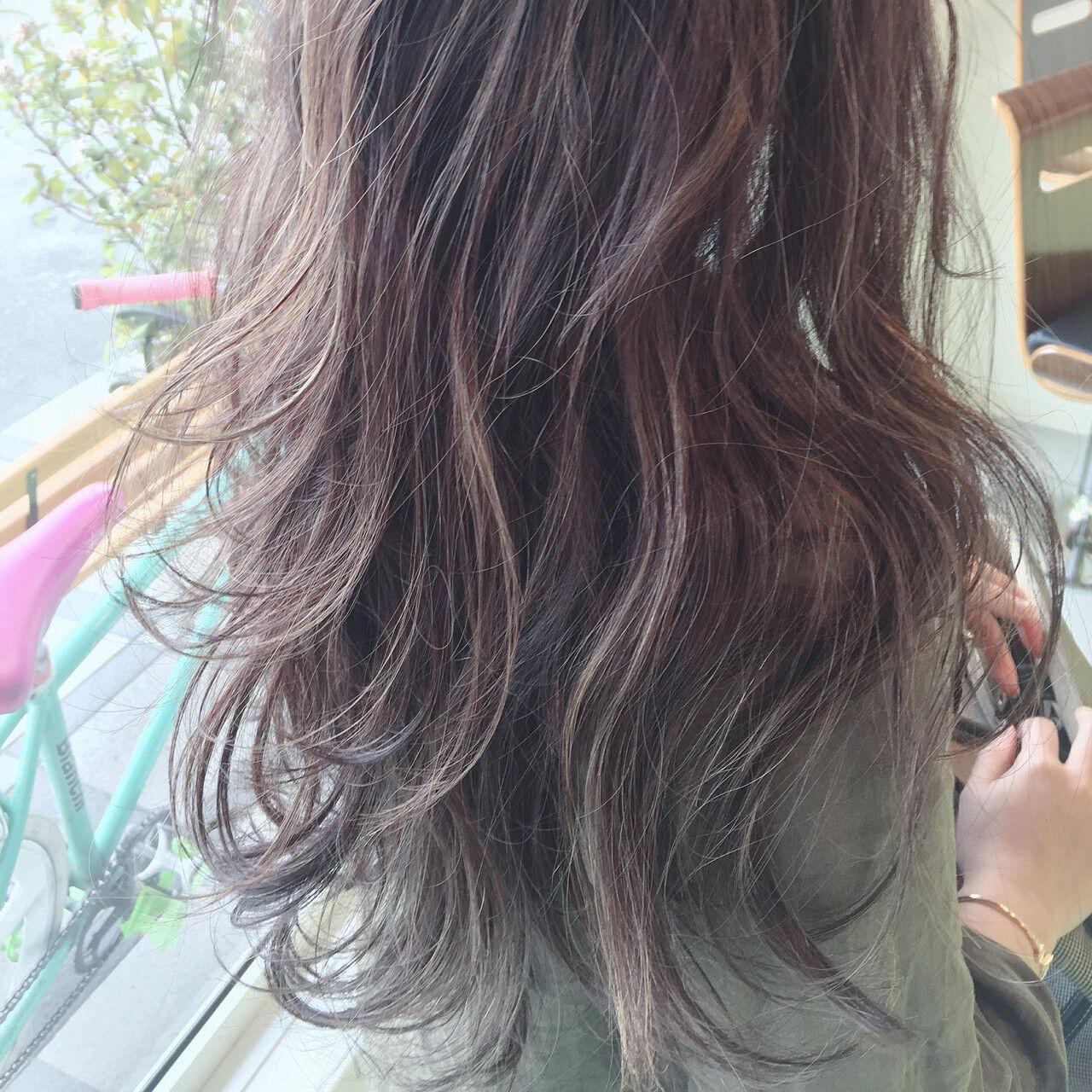 ヘアアレンジ グラデーションカラー 夏 ストリートヘアスタイルや髪型の写真・画像