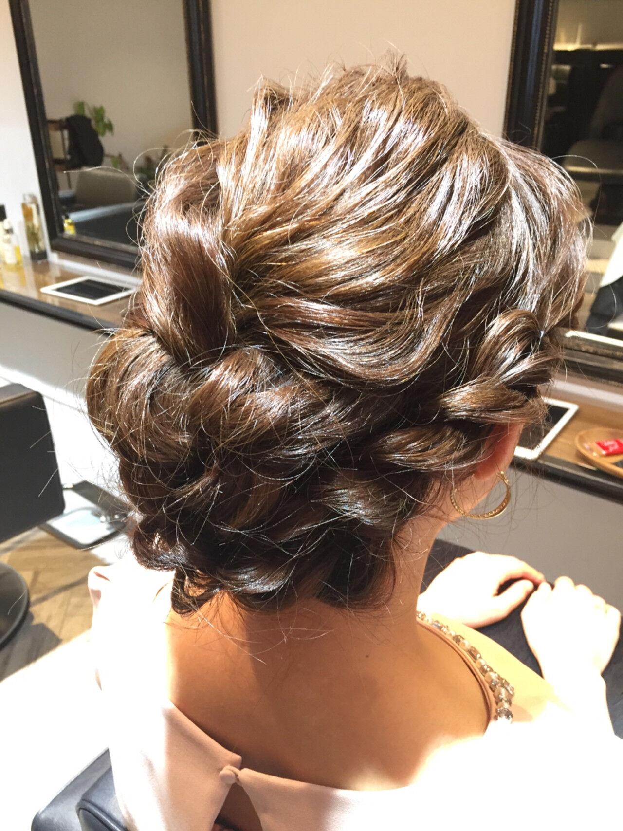 涼しげ ミディアム フェミニン お祭りヘアスタイルや髪型の写真・画像