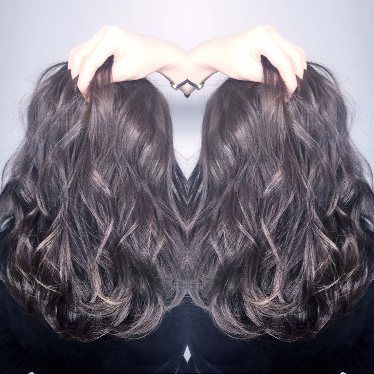外国人風 ストリート アッシュ 渋谷系ヘアスタイルや髪型の写真・画像