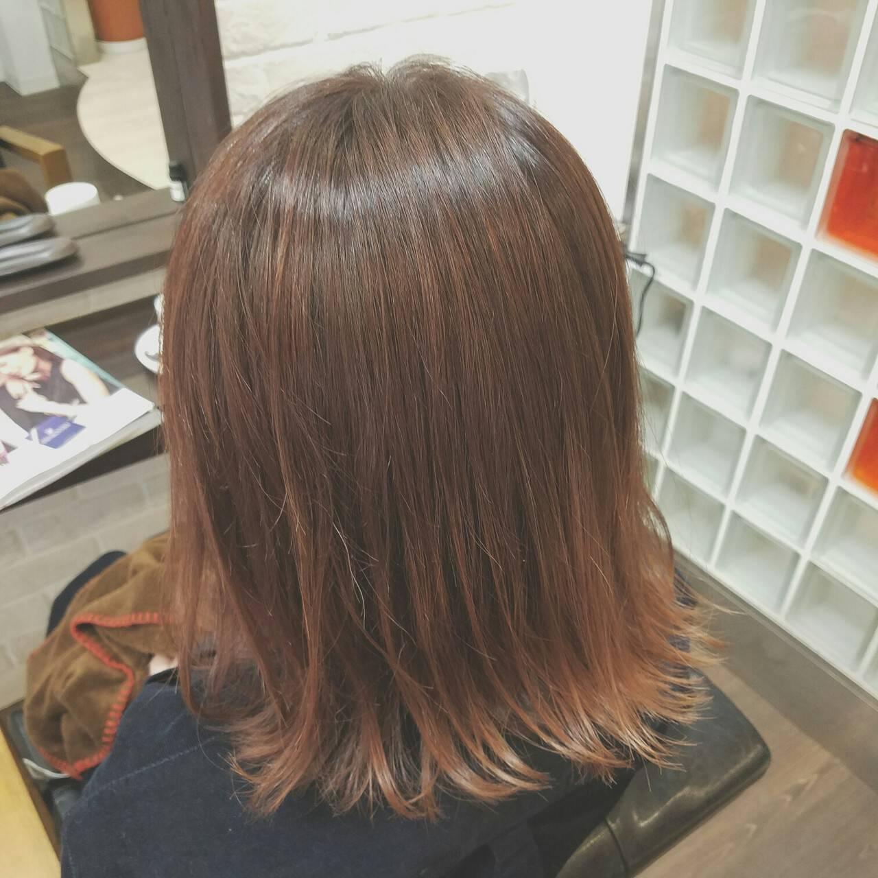 大人女子 色気 フェミニン 切りっぱなしヘアスタイルや髪型の写真・画像