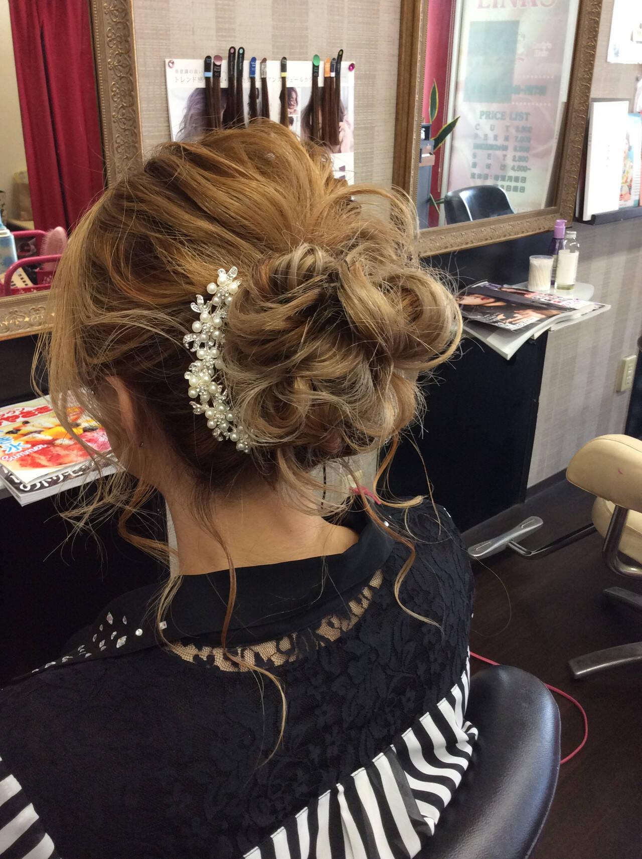 ナチュラル デート 簡単ヘアアレンジ ミディアムヘアスタイルや髪型の写真・画像