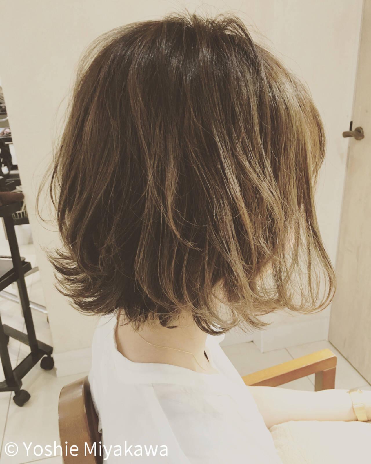 ウェーブ ナチュラル デート リラックスヘアスタイルや髪型の写真・画像
