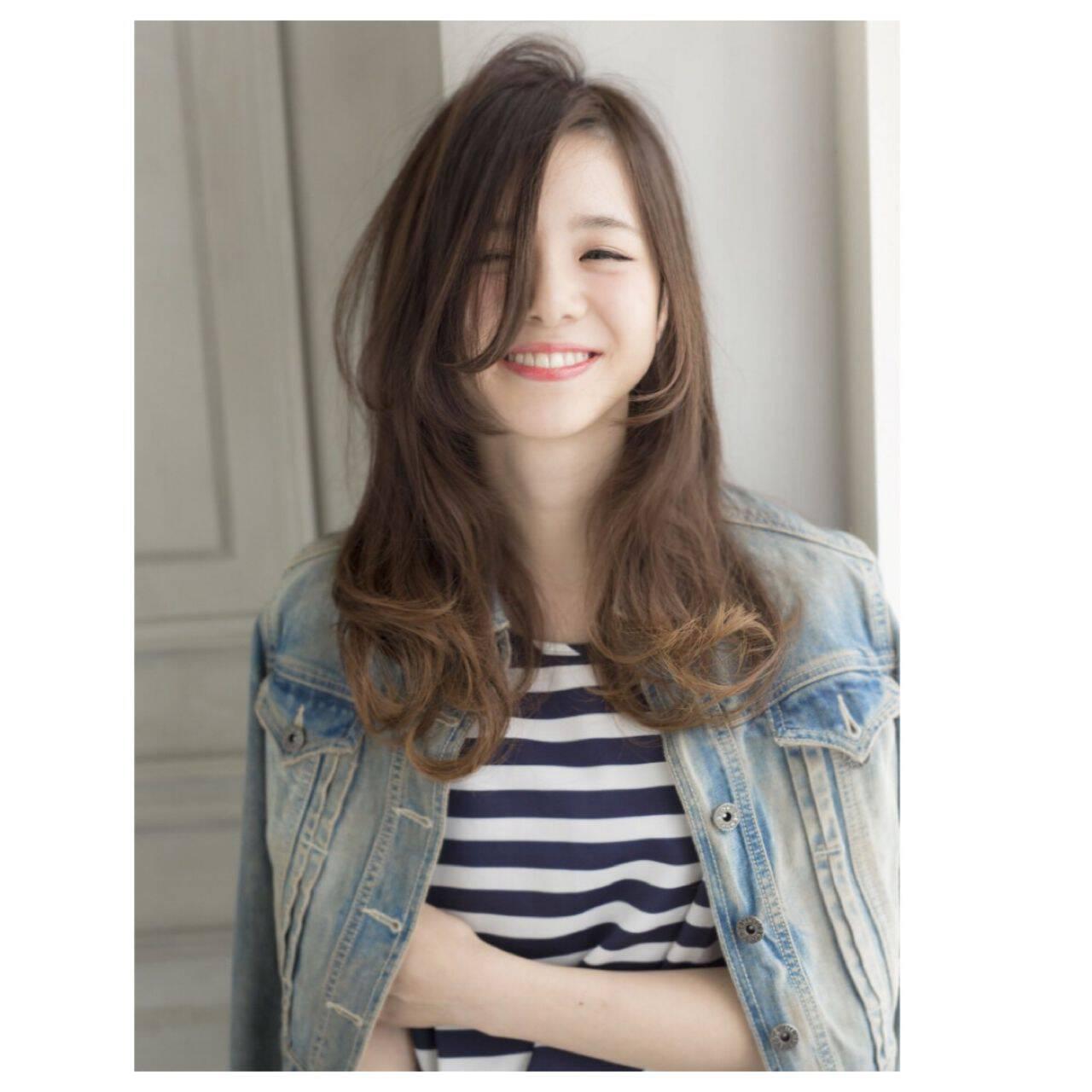 ロング コンサバ パンク 春ヘアスタイルや髪型の写真・画像