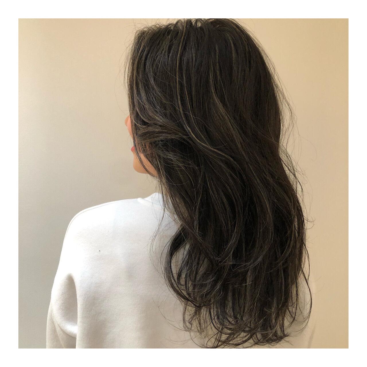 ヘルシー 外国人風カラー ハイライト 抜け感ヘアスタイルや髪型の写真・画像