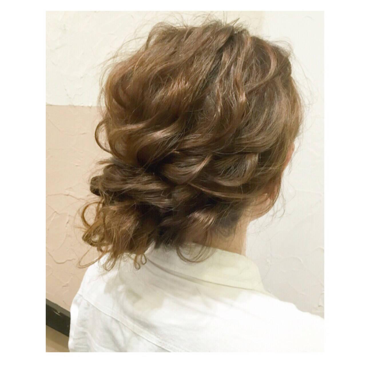 大人かわいい ミディアム 波ウェーブ ゆるふわヘアスタイルや髪型の写真・画像