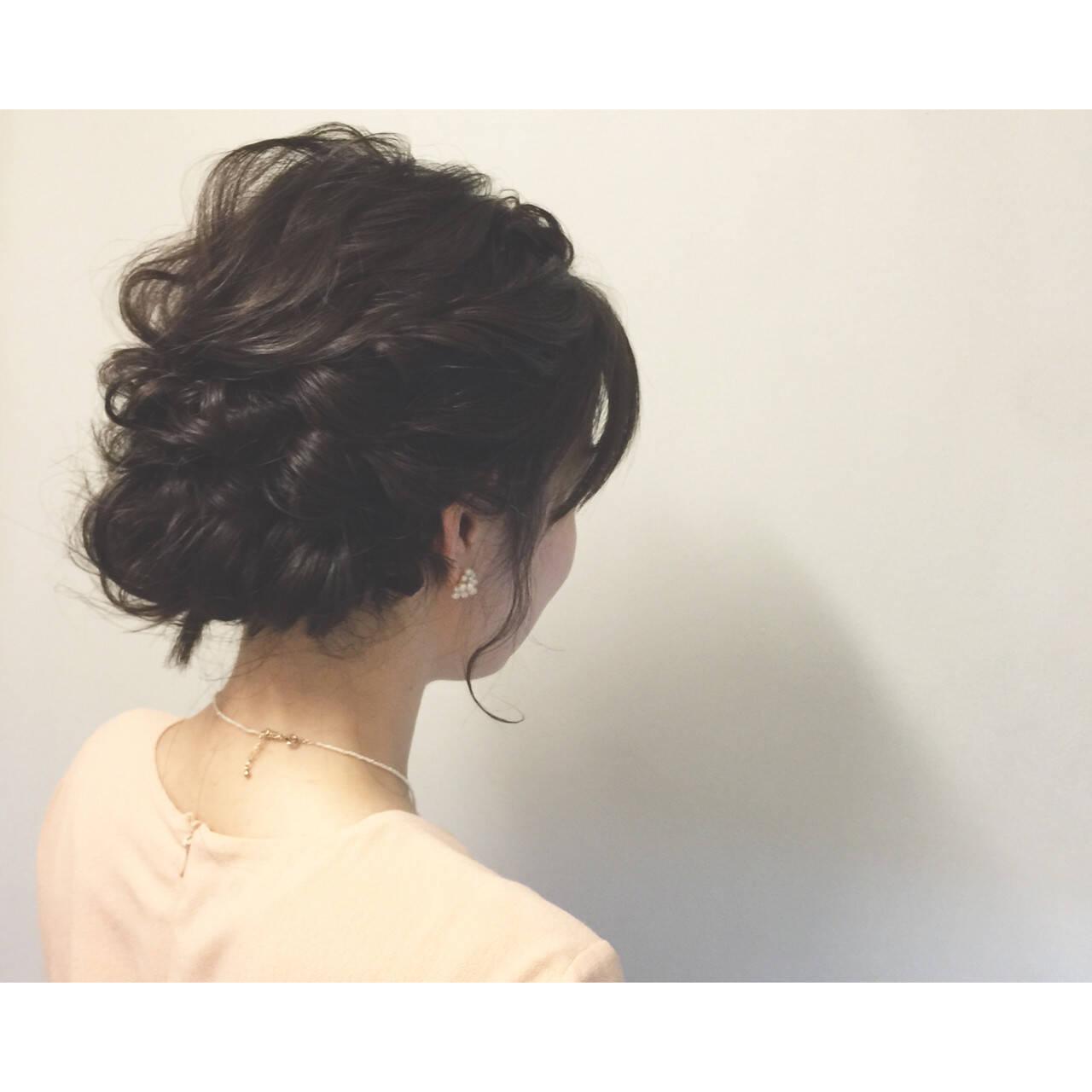 お祭り ショート 夏 簡単ヘアアレンジヘアスタイルや髪型の写真・画像