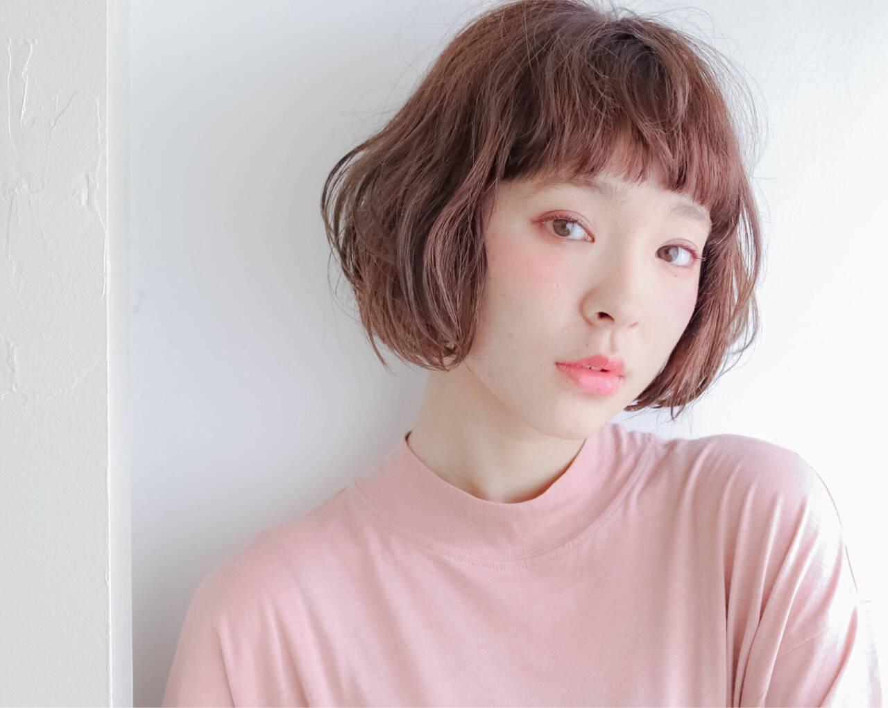色気 外国人風 モード 前髪ありヘアスタイルや髪型の写真・画像