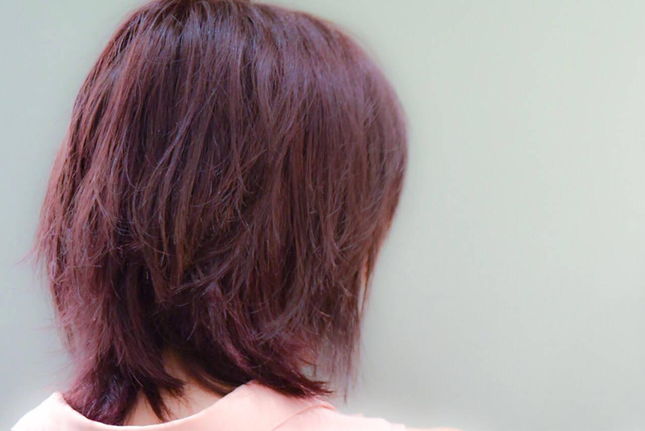 デート ピンク ガーリー ベリーピンクヘアスタイルや髪型の写真・画像