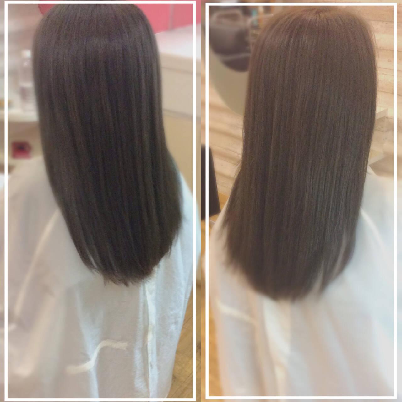 社会人の味方 髪質改善 髪質改善トリートメント ロングヘアスタイルや髪型の写真・画像